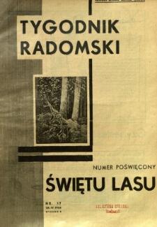 Tygodnik Radomski, 1934, R. 2, nr 17
