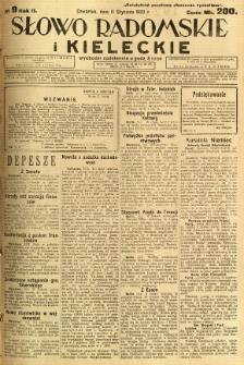 Słowo Radomskie i Kieleckie, 1923, R.2, nr 9