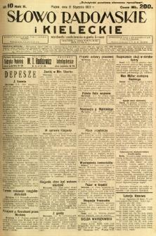 Słowo Radomskie i Kieleckie, 1923, R.2, nr 10