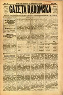 Gazeta Radomska, 1898, R. 15, nr 76