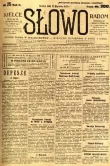 Słowo, 1923, R.2, nr 25