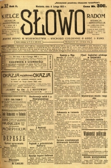 Słowo, 1923, R. 2, nr 32