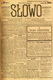 Słowo, 1923, R. 2, nr 39