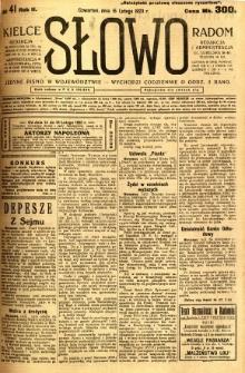 Słowo, 1923, R. 2, nr 41