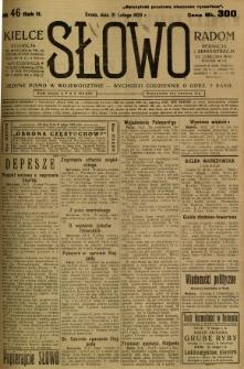 Słowo, 1923, R. 2, nr 46