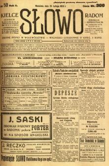 Słowo, 1923, R. 2, nr 50