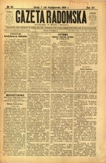 Gazeta Radomska, 1898, R. 15, nr 80