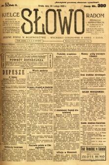 Słowo, 1923, R. 2, nr 52