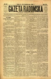 Gazeta Radomska, 1898, R. 15, nr 82