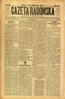 Gazeta Radomska, 1898, R. 15, nr 83