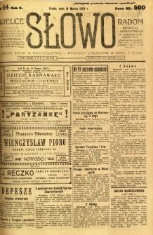 Słowo, 1923, R. 2, nr 64