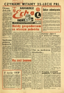 Radomskie Echo Skórzanych, 1969, R. 14, nr 6
