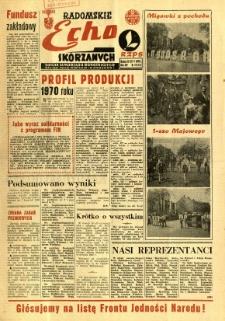 Radomskie Echo Skórzanych, 1969, R. 14, nr 14