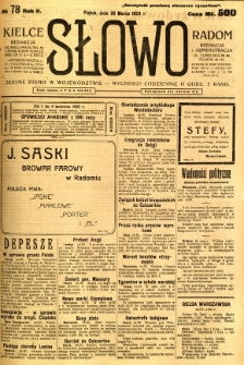 Słowo, 1923, R. 2, nr 78