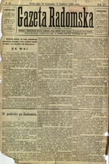 Gazeta Radomska, 1898, R. 15, nr 94