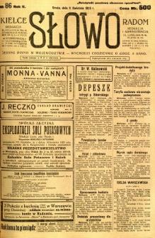 Słowo, 1923, R. 2, nr 86