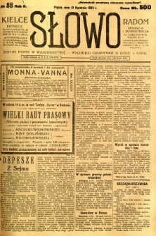 Słowo, 1923, R. 2, nr 88