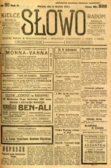 Słowo, 1923, R. 2, nr 90