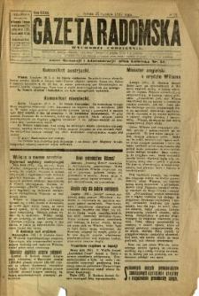 Gazeta Radomska, 1917, R. 32, nr 21