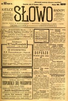 Słowo, 1923, R. 2, nr 93