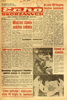 Radomskie Echo Skórzanych, 1976, R. 21, nr 33