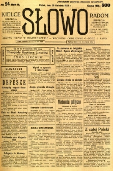 Słowo, 1923, R. 2, nr 94