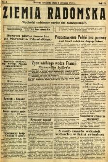 Ziemia Radomska, 1931, R. 4, nr 3