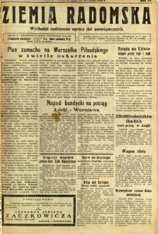Ziemia Radomska, 1931, R. 4, nr 14