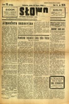 Słowo, 1930. R. 9, nr 164