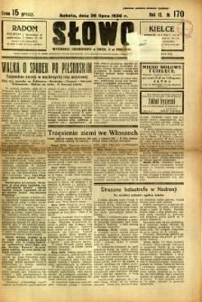 Słowo, 1930. R. 9, nr 170
