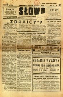 Słowo, 1930. R. 9, nr 197