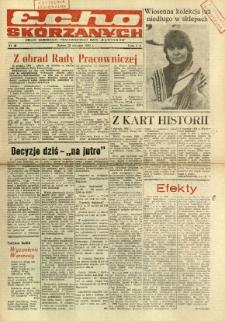 Echo Skórzanych, 1985, nr 1