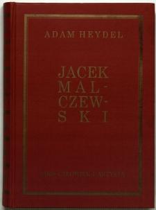 Jacek Malczewski : człowiek i artysta