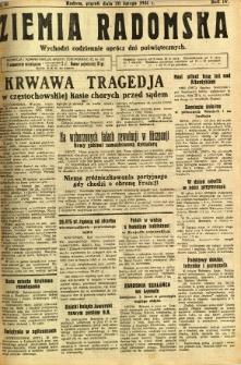 Ziemia Radomska, 1931, R. 4, nr 41