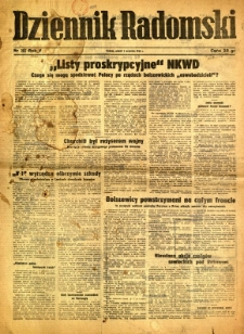 Dziennik Radomski, 1944, R. 5, nr 205