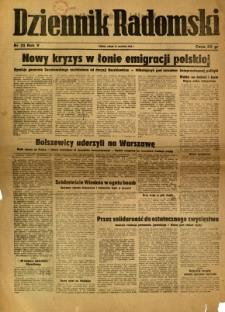 Dziennik Radomski, 1944, R. 5, nr 218
