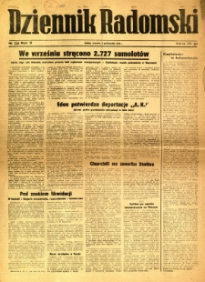 Dziennik Radomski, 1944, R. 5, nr 234