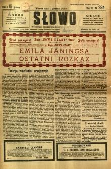 Słowo, 1928, R. 7, nr 284