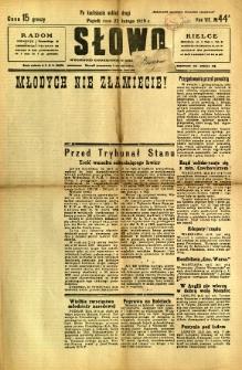 Słowo, 1929, R. 8, nr 44