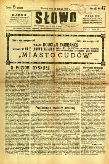 Słowo, 1929, R. 8, nr 47