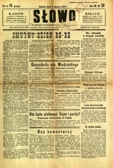 Słowo, 1929, R. 8, nr 51