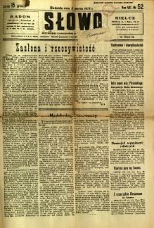 Słowo, 1929, R. 8, nr 52