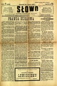 Słowo, 1929, R. 8, nr 55