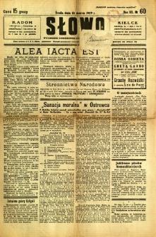 Słowo, 1929, R. 8, nr 60