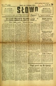 Słowo, 1929, R. 8, nr 79