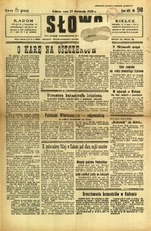 Słowo, 1929, R. 8, nr 98