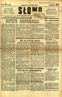 Słowo, 1929, R. 8, nr 102