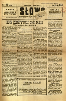 Słowo, 1929, R. 8, nr 103