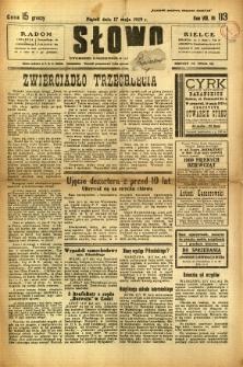 Słowo, 1929, R. 8, nr 113