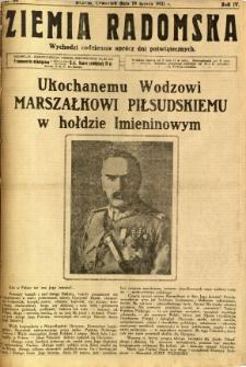 Ziemia Radomska, 1931, R. 4, nr 64